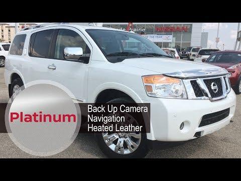 2015 Nissan Armada Platinum 8 Passenger SUV | Walk Around | Grande Prairie Nissan
