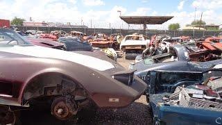 Muscle Car Junkyard Part 11 Aar Cuda In The Junkyard