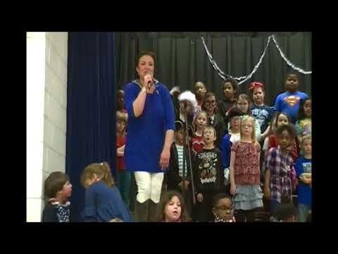 """Bessie Weller Elementary School """"The U S  is US!"""" pt 2"""