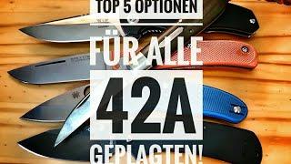 Top 5 42a-Konforme Taschenmesser (VA für Andi1878)