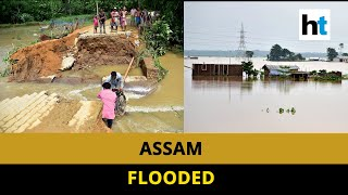 Assam floods: Brahmaputra continues to swell, around 10 lakh affected
