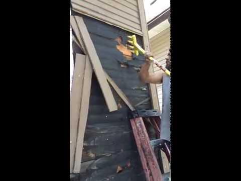 HGTV 'Good Bones' Tad Starsiak tears off wood siding