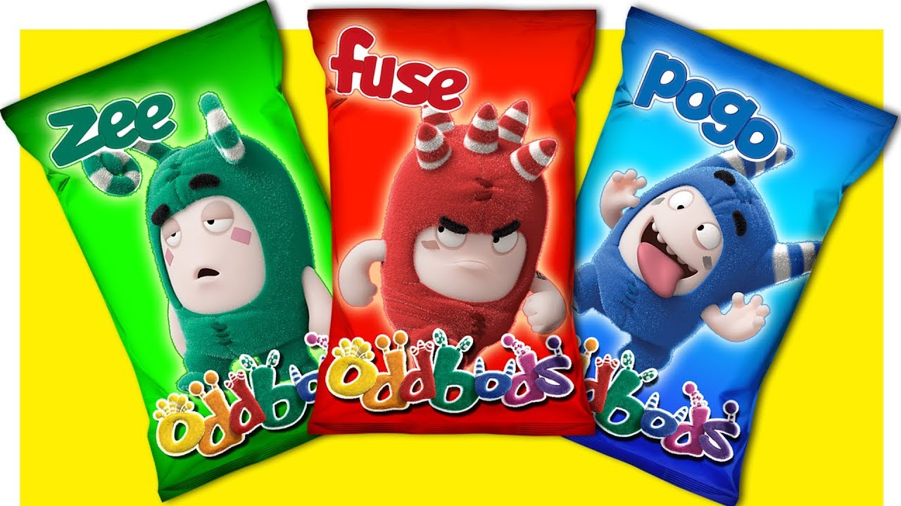 Learn Colors With Oddbods Toys Wrong Heads For Kids Youtube