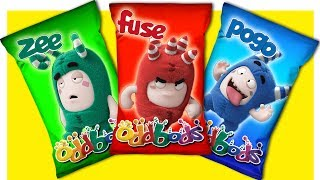 Learn Colors with Oddbods Toys Wrong Heads for Kids