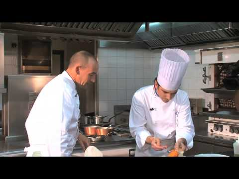 Cuisine Culture™ 2 Star Michelin Chef Jean-Denis Rieubland, Nice, France