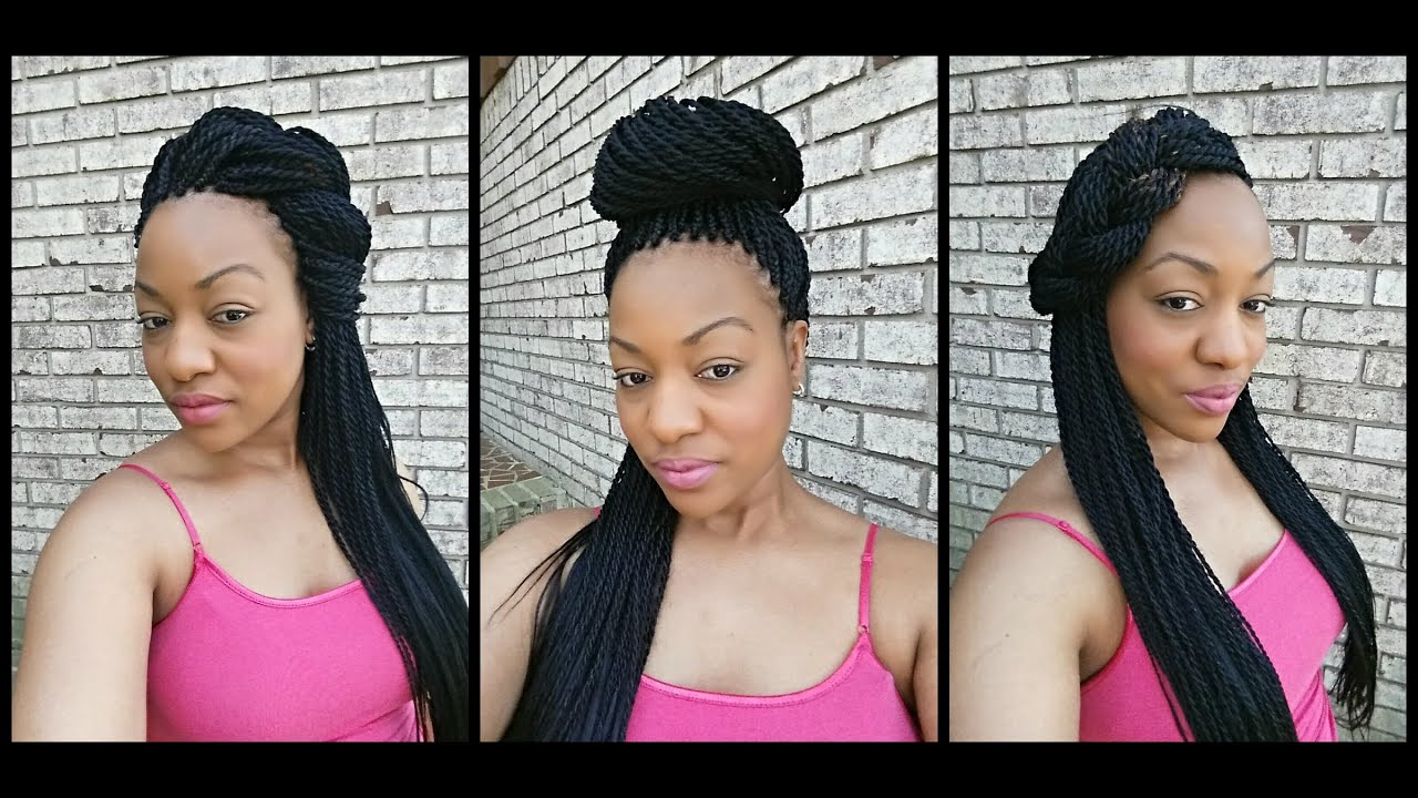 how to do hair twist styles how to style senegalese twists 5 ways 8621
