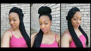 How to style Senegalese Twists - 5 Ways