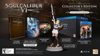 Soul Calibur VI Collector's Edition - Unboxing! (PlayStation 4)