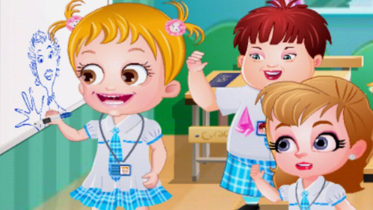 baby hazel goes to school Games for Girls on GirlsGames123 ...