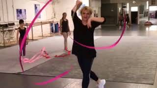 Coach Larisa. Rhythmic Gymnastics.