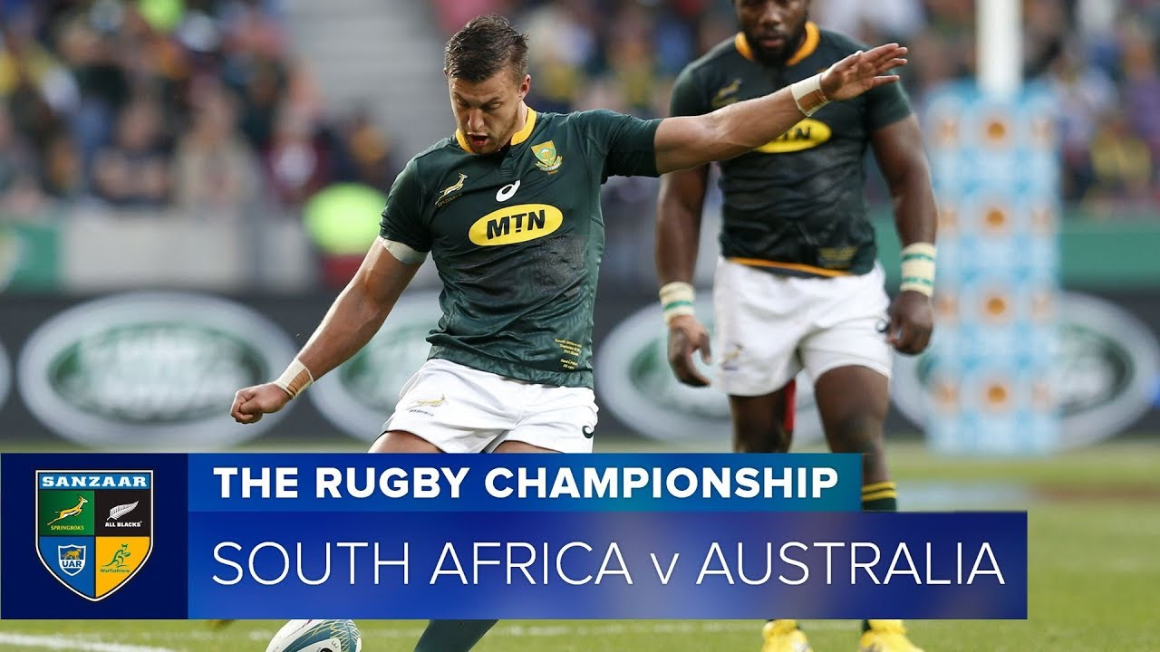 Springboks vs Wallabies