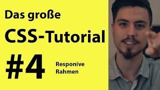 Responsive Website erstellen mit CSS und HTML | Grundkurs #4 für Anfänger deutsch