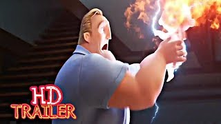 INCREDIBLES 2 Teaser Trailer @2 2018 Disney Pixar Animated |MovieDirector: Brad Bird in hd