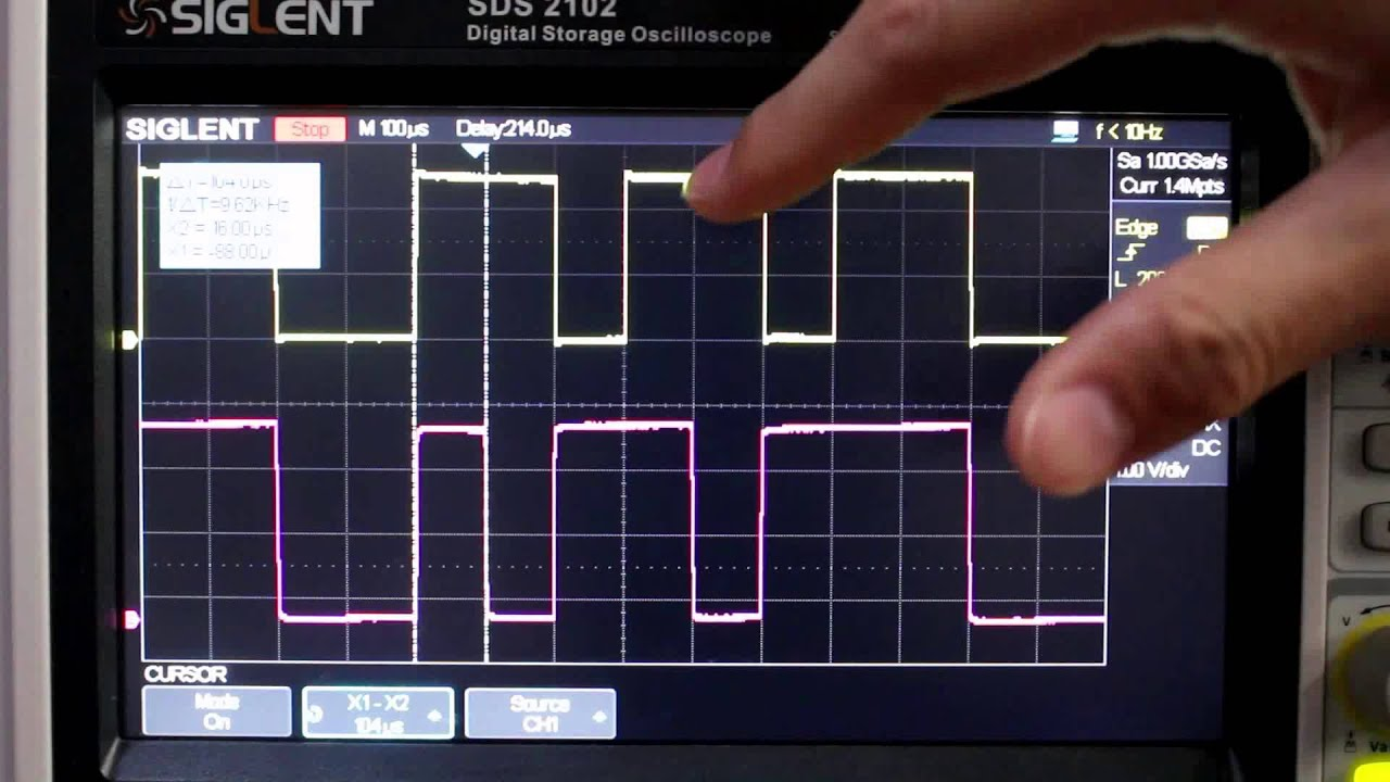 medium resolution of how to use the pattern trigger of siglent oscilloscopes
