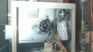 Draft inducer motor running, furnace won't ignite at a Richfield, MN Home Inspection