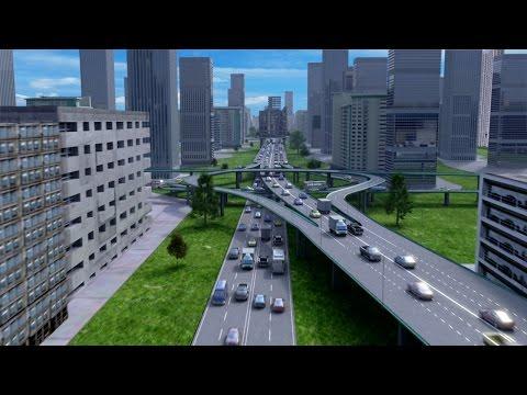 Строительство дорог 3Д графика