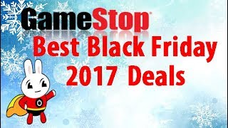 GameStop Black Friday 2017 Deals