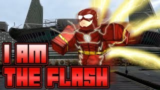 I am the Flash!! AGAIN!! | Roblox | Flash: Cw Heroes