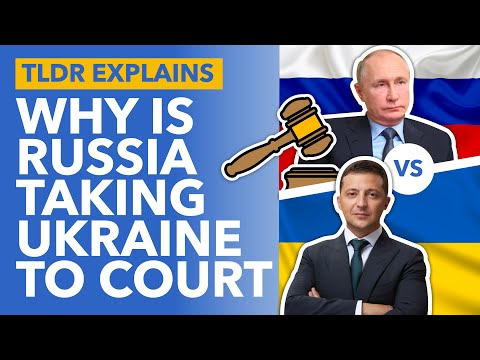 Russia's Lawsuit Against Ukraine Explained: Battle of the Former Soviets - TLDR News