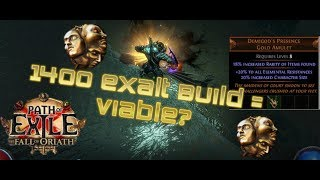 [Path of Exile] 1400 Exalt Max Character Size Build Guide ft. Pro Lab Runner
