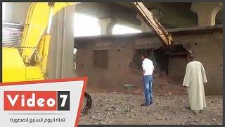 """""""الرى"""" تشن حملة بالوراق لإزالة 17 مخالفة على النيل"""