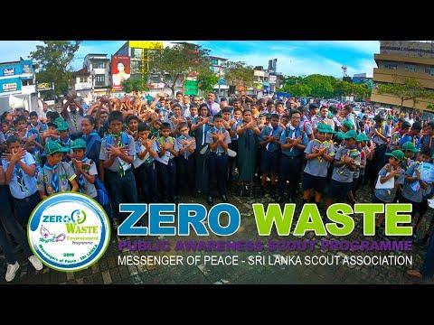 ZERO WASTE Public Awareness Scout Programme  - Messenger of Peace