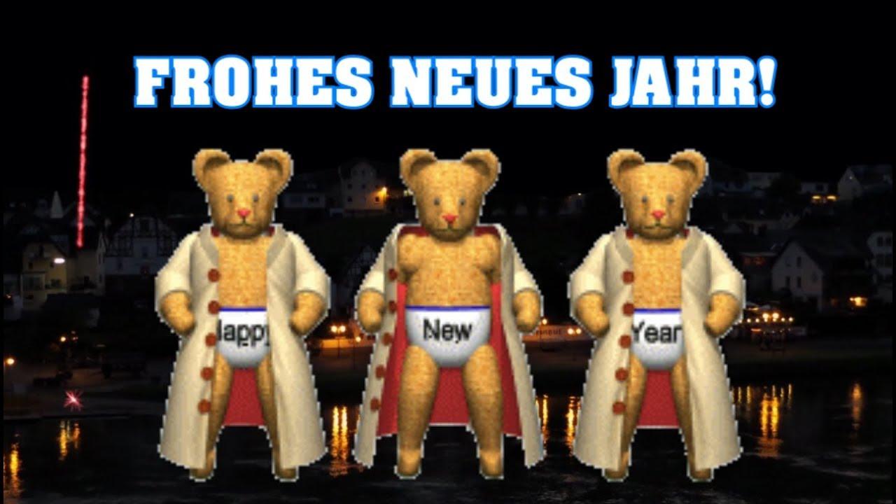 Lustiger Silvester Gruß 🍸 Guten Rutsch ins Neue Jahr..Happy New ...