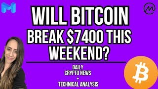 TRUMPS PICK TO GET THE ECONOMY RUNNING - BITCOIN TO 7400? - COINMARKETCAP NEW USERS