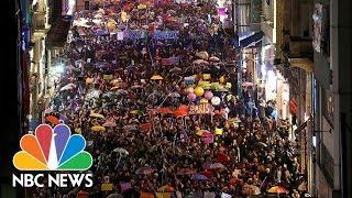 International Women's Day Draws Big Crowds Worldwide | NBC News