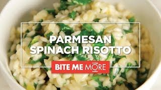 Easy Recipe for Parmesan Spinach Risotto