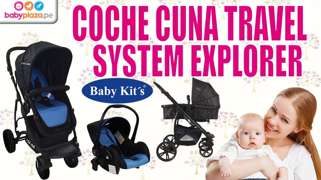 eb8beed8d Coche Travel System Explorer- Baby Kits | BabyPlaza - YouTube
