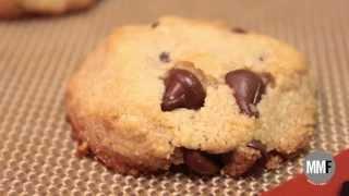 Healthy Chocolate Chip Cookies (gluten-free)