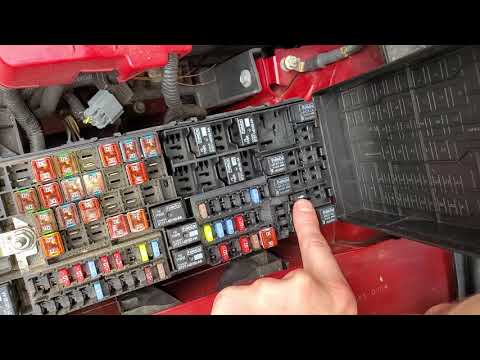 2013 Ford Edge AC Relay and Fuse, Blower Motor Relay and Fuse