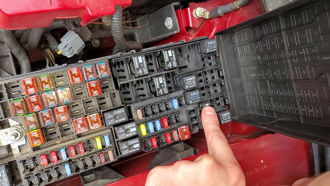 hight resolution of 2013 ford edge ac relay and fuse blower motor relay and fuse