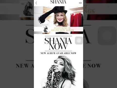 Shania Twain Now Album Ad