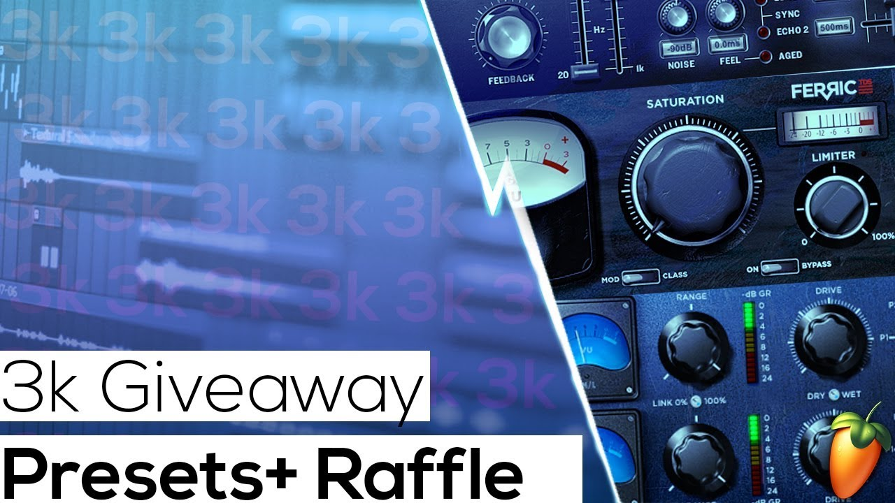 FREE FL Studio Vocal Presets 2018 + Template and MiX Raffle