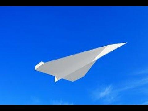 Как сделать самолет из бумаги, которыйает 100 метров?
