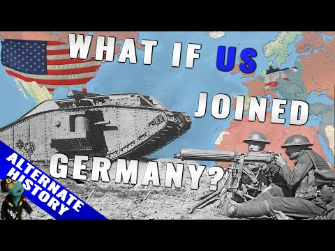 What would WW1 have looked like had the US joined the Central powers in 1917?