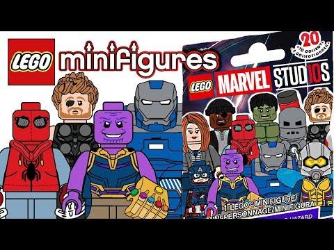 LEGO Marvel Studios Minifigures - CMF Draft!