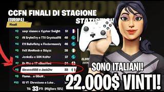 Ecco i 2 MIGLIORI PLAYER D'ITALIA! 22.000$ VINTI in un TORNEO! (Da Console)