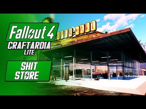 SUPER DUPER SHIT STORE - Fallout 4 Supermarket Build - Fallout 4 Craftardia Lite