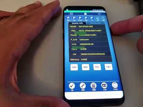 Samsung Galaxy S8 / S8 Plus EFS wipe - IMEI REPAIR for SM-G950 & SM