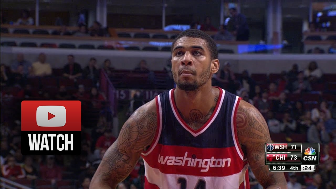 Glen Rice Jr Full Highlights at Bulls 2014 10 06 18 Pts