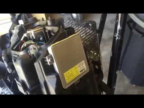 2008 BMW E90 Headlight Ballast Replacement DIY