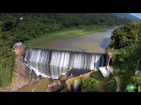 La Represa, Rio La Plata, Comerio Puerto Rico (Drone)