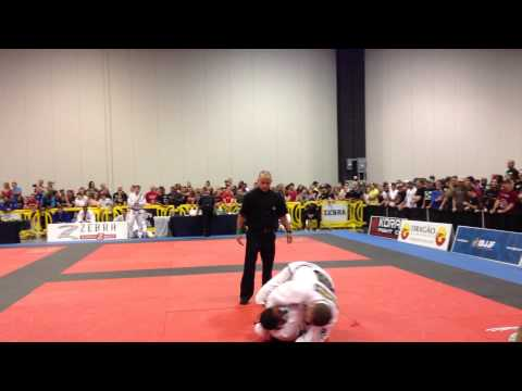 Bruno Malfacine vs Guybson Sa - Black Belt Adult Open Class Semi Final - Atlanta IO 2013