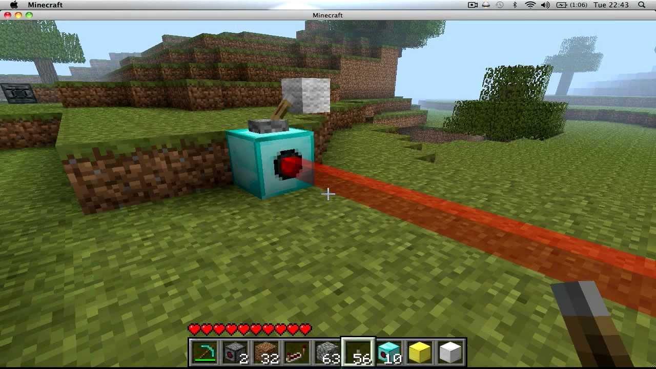 Minecraft мод на Лазер