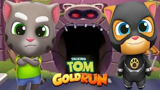 Talking Tom Gold Run - TALKING TOM & SUPER GINGER in All World Maps Run!Run!Run!