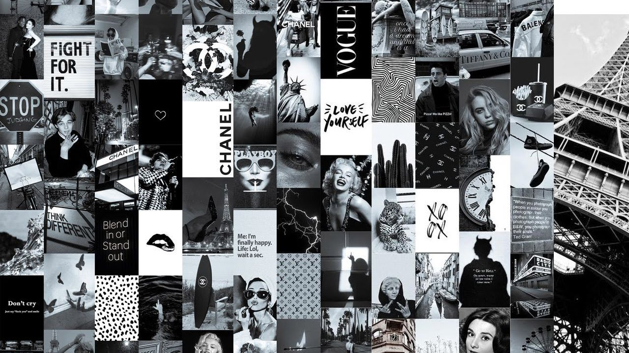 Black And White Aesthetic Wallpaper Grey Aesthetic Pictures For Wall Collage Grey Aesthetic Youtube   see more about wallpaper, background and aesthetic. black and white aesthetic wallpaper