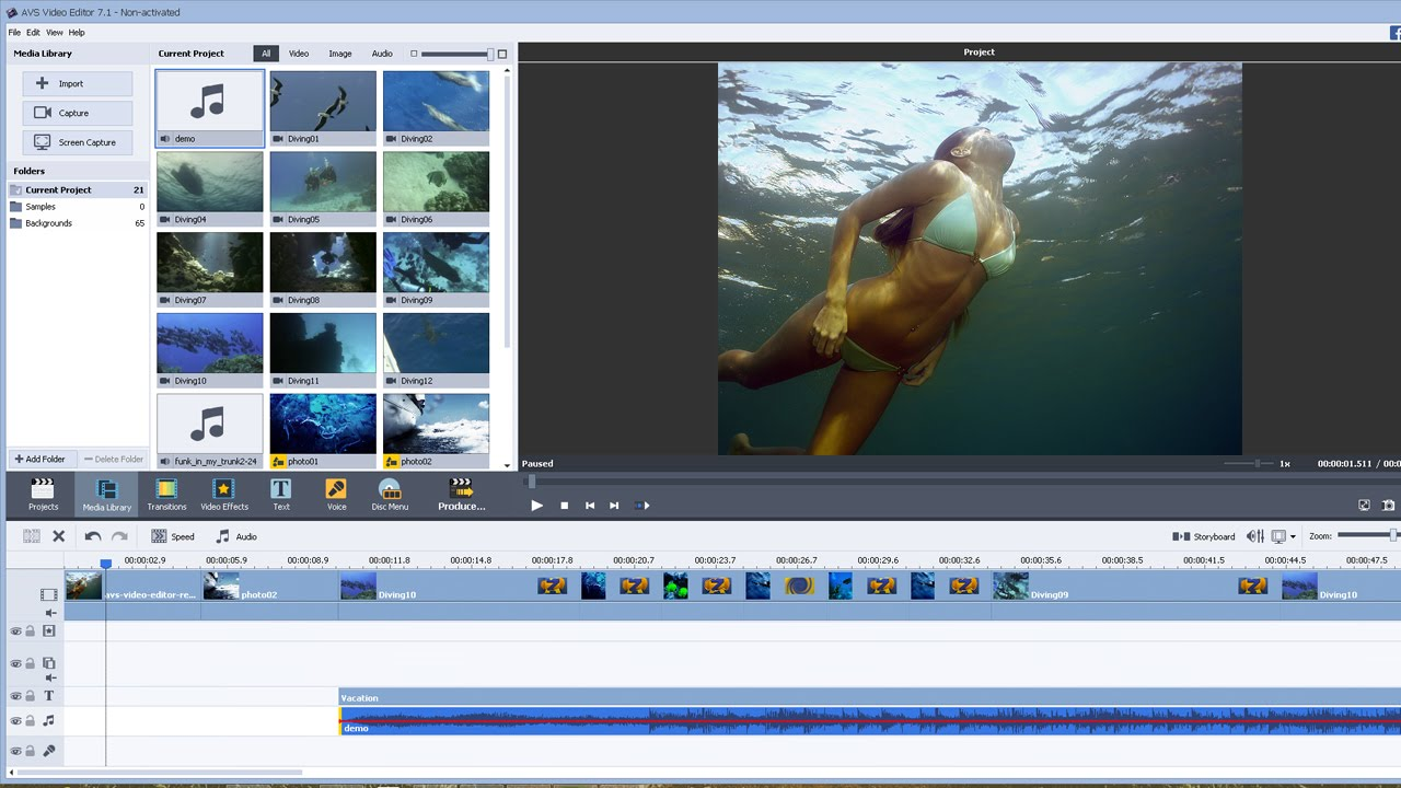 AVS Video Editor Review and Tutorial - YouTube